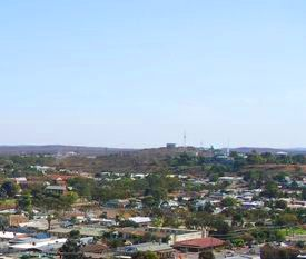 Broken Hill view from Line of Lode