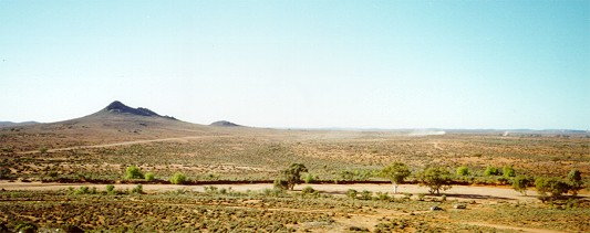 The Pinnacles hills just outside Broken Hill